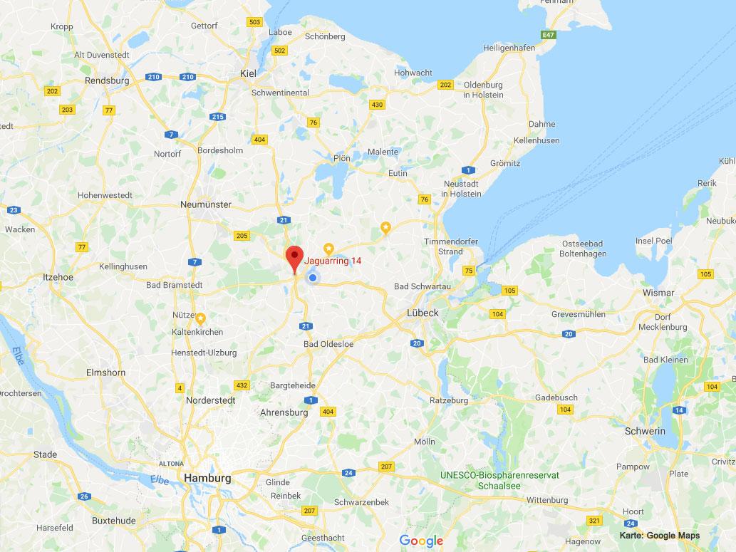 Einsatzgebiet Absolut Rohrfrei in Schleswig-Holstein und Hamburg